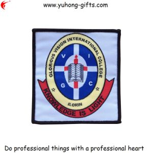 New School Woven Badge for College Uniform (YH-WB060) pictures & photos