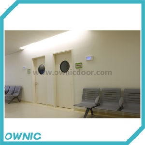 Sdpm-31 Hot! Manual Swing Door One and Half Leaf (double open) pictures & photos