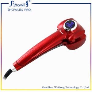 Showliss New Design LCD Automatic Steam Hair Curler Wave Maker Hair Curler pictures & photos