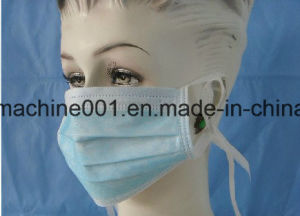 Automatic Ultrasonic Mask Tie-on Machine with Packing pictures & photos
