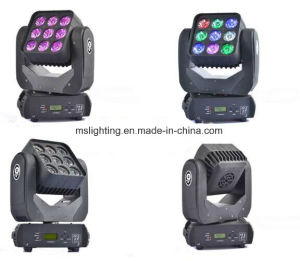 New Hot Selling 9*10W RGBW 4in1 LED Moving Head Light pictures & photos