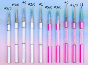 Synthetic Hair Aluminum Handle Nail Brushes pictures & photos