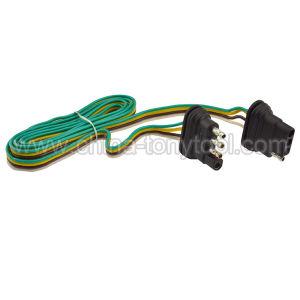 4 Way 4 Pin Plug Flat 20 Gauge Trailer Light Wiring Harness Extension china 4 way 4 pin plug flat 20 gauge trailer light wiring harness 4 Flat Trailer Wiring Diagram at reclaimingppi.co