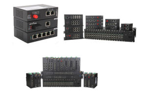 Industrial Ethernet Network Switch with 2 Gigabit SFP pictures & photos