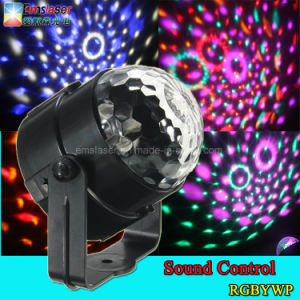 Mini Rgbywp LED Party Light Disco Club DJ Crystal Magic Ball Effect Stage Light 5V 1A pictures & photos