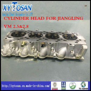 Sole Supplier! ! ! Cylinder Head Assy for Jiangling Vm 2.5&2.8 pictures & photos