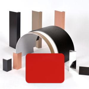 Aluis Exterior 6mm Aluminium Composite Panel-0.30mm Aluminium Skin Thickness of FEVE High Glossiness Bright Red pictures & photos