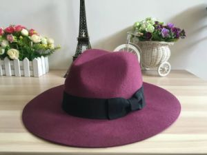 Cowboy Wool Hat for Man Australia Style Fedora Hat pictures & photos
