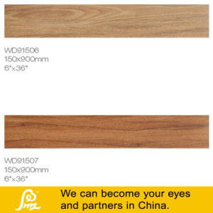 Rustic North American Style Wooden Porcelain Tile 150X900mm--a pictures & photos