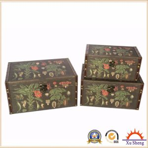 Decorative Box for Storage and Gift Box for Presents with Plants Pattern pictures & photos