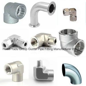 Pipe Fittings Alloy Steel Forged Weld Elbows pictures & photos