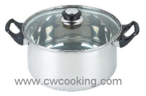 Stainless Steel Casserole with Lid Stainless Steel Cookware Set pictures & photos