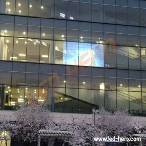 P10 Transparent LED Display Screen pictures & photos
