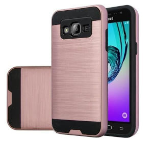 New Arrival 2 in 1 PC TPU Brush Mars Armor Cases Brush Hybrid TPU+PC Tough Hard Case Cover for Asus Zenfone 2/Laser pictures & photos