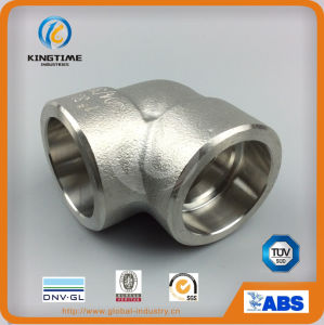 High Quality Stainless Steel Forging 90 Deg Elbow Sw Forged Elbow (KT0573) pictures & photos