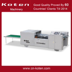 Automatic Shoe Box Pasting/Folding/Making Machine to India pictures & photos