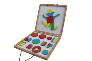 Wooden Magnetic Block Toys for Kids and Children pictures & photos