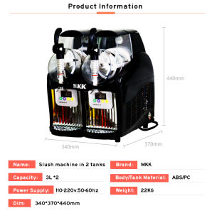 China Popular Ice Slush Machines One Tank/Slush Machine/Slush Granita Machine 001 pictures & photos
