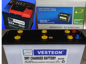 Korean Brand Car Battery Atlas, Delkor, Rocket pictures & photos