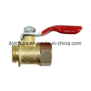 Ilot Full Flow Brass Valve Ball Threaded pictures & photos