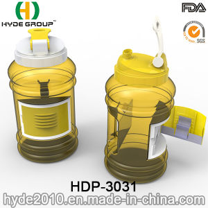 2.2L Hot Sale Plastic Joyshaker Water Jug, BPA Free PETG Plastic Water Bottle with Container (HDP-3031) pictures & photos