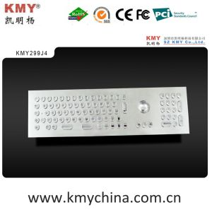 """Front Panel Mounting Metal Keyboard with """"U"""" Shape Keys (KMY299J-4) pictures & photos"""