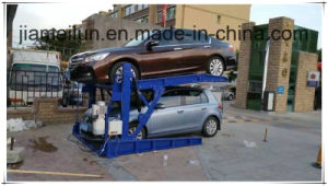 Two Post Parking System Tilting Parking Equipment pictures & photos