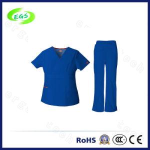 100% Cotton Medical Nursing Uniform Scrubs pictures & photos