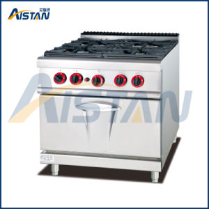 Gh987A 4-Burner with Gas Oven of Catering Equipment pictures & photos