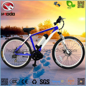 Electric Middle Motor Mountain Bicycle with Conversion Kit pictures & photos