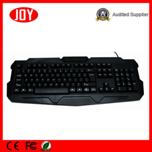 High-End USB Wired Laptop Key Board Djj218-Black English Layout Keyboard pictures & photos