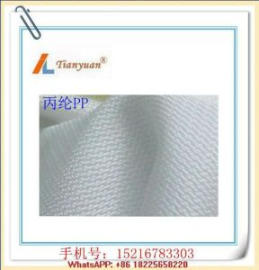 Polypropylene Multifilament Cloth PP Plain/Twill/Satin Filter Cloth pictures & photos