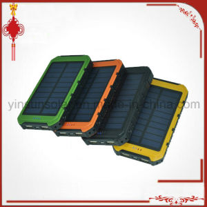 Hot-Selling Solar Power Bank Charger 8000mAh, Solar Charger, Portable Solar Power Bank for Smart Devices pictures & photos