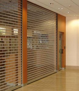 Commercial Polycarbonate Curved Shutters (Hz-PRS04) pictures & photos