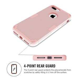 iPhone 7 Plus Hybrid Heavy Duty Shockproof Full-Body Protective Case pictures & photos