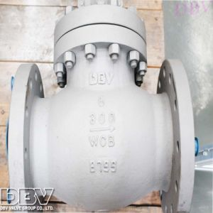 Industrial Hand Wheel Flange Wcb Soft Seated Check Valve pictures & photos