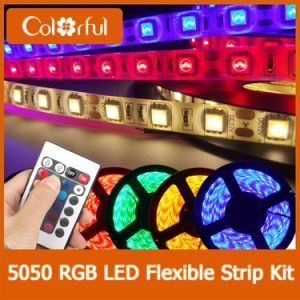 Hot DC12V SMD5050 RGB Full Spectrum LED Strip pictures & photos