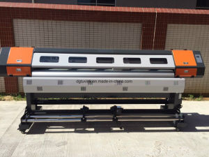 87inch 1440dpi Dual Printhead LED Curable UV Printer pictures & photos