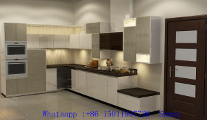 High Glossy Particle Board Kitchen Cabinet (facotry directly) pictures & photos