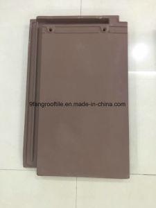 Roof Tile New Design Clay Flat Roofing Tile 280*450mm China Factory From Supplier Guangdong pictures & photos