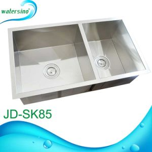 Hand-Made Sink for Kitchen Wash Bowl in SS304 pictures & photos