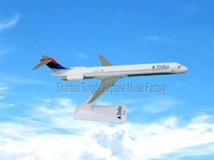 Plastic MD-90 Dalta Model Aircraft for Decoration pictures & photos