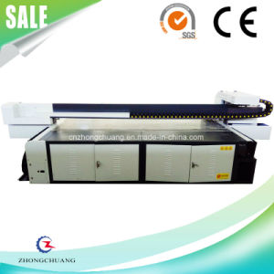 Ricoh-Gen5 Heads 10′x6′ Acrylic / Glass Material UV LED Flatbed Printer pictures & photos