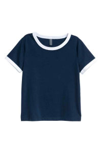 Polyester 65%; Viscose 35% Womens Short T-Shirt pictures & photos