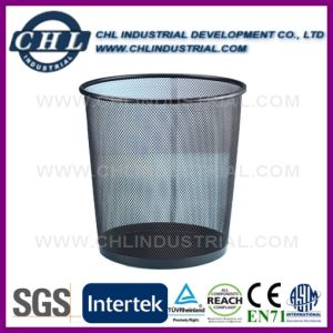 Factory Manufacturing Daily Cleaning Desktop Decorative Mesh Garbage Can pictures & photos