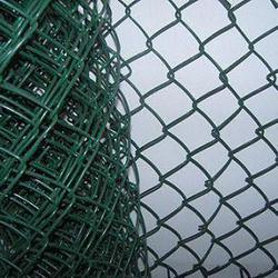 Factory Green PVC Coated Used Chain Link Fence for Sale pictures & photos