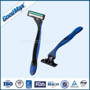 Goodmax High Quality 3 Blade Disposable Shaving Razor, Similar Model to Gillette (SL-3035TL) pictures & photos