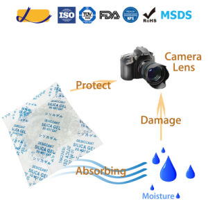 Malaysia Top Sale Silica Gel Desiccant Packet pictures & photos