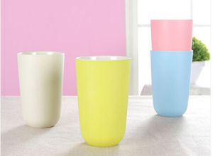 Hot Sale Colorful Bamboo Fiber Baby Cup (YK-BC4042) pictures & photos