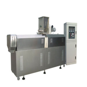 Open Cone Processling Line with Twin Screw Extruder Machine pictures & photos